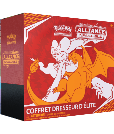 Elite Trainer Box  (ETB) - Alliance Infaillible - Soleil et Lune